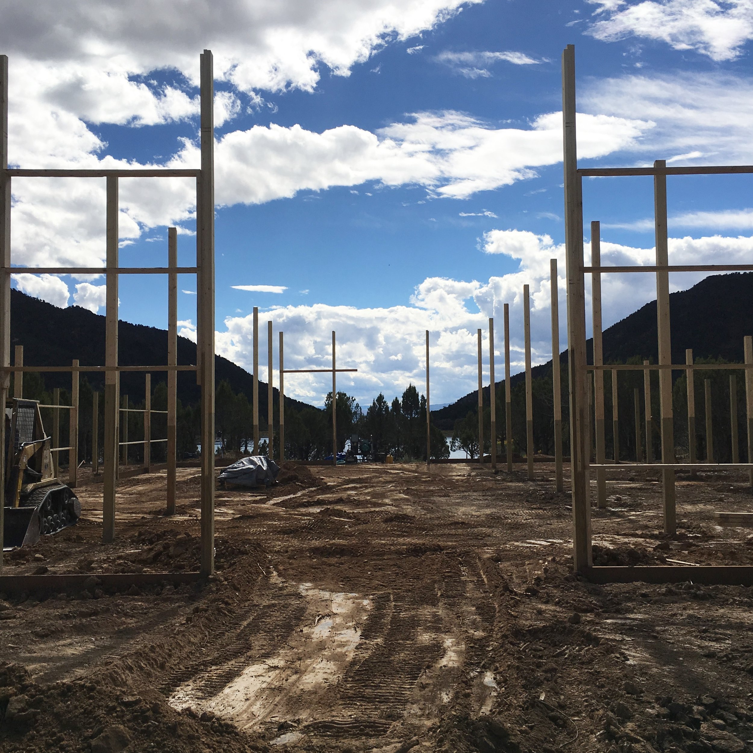Vista View Events at Open Heart Ranch is a new Colorado wedding venue! This is a fun, photo timeline of our construction updates. Thank you so much for your support and love during this crazy project!