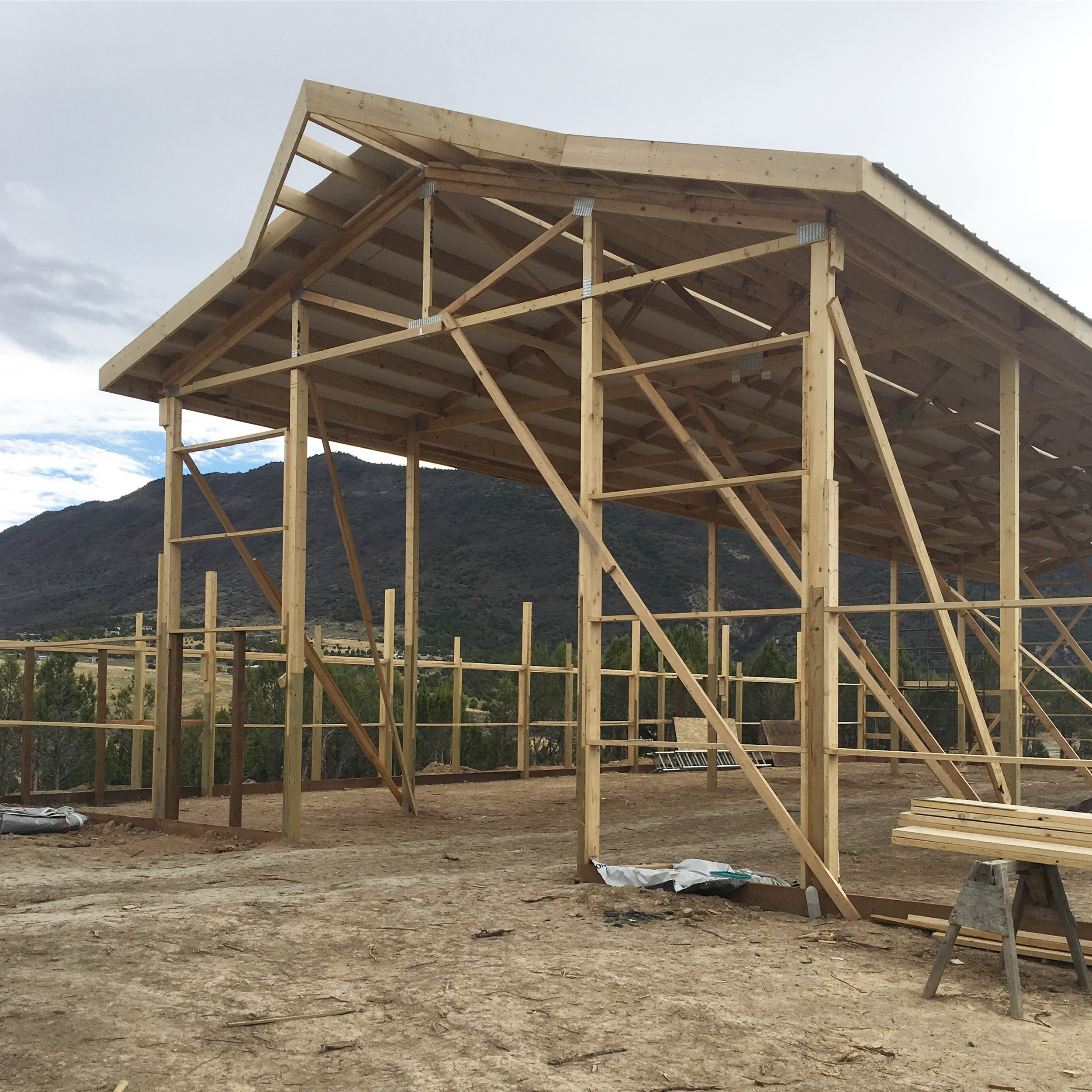 A fun construction update from a new Colorado wedding venue. Vista View Events is a luxury wedding & event venue in the Rocky Mountains.