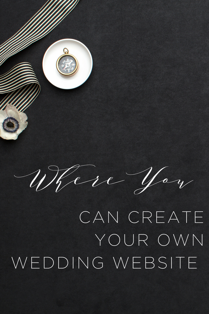 These four places will help you create an awesome wedding website that is gorgeous and super functional!
