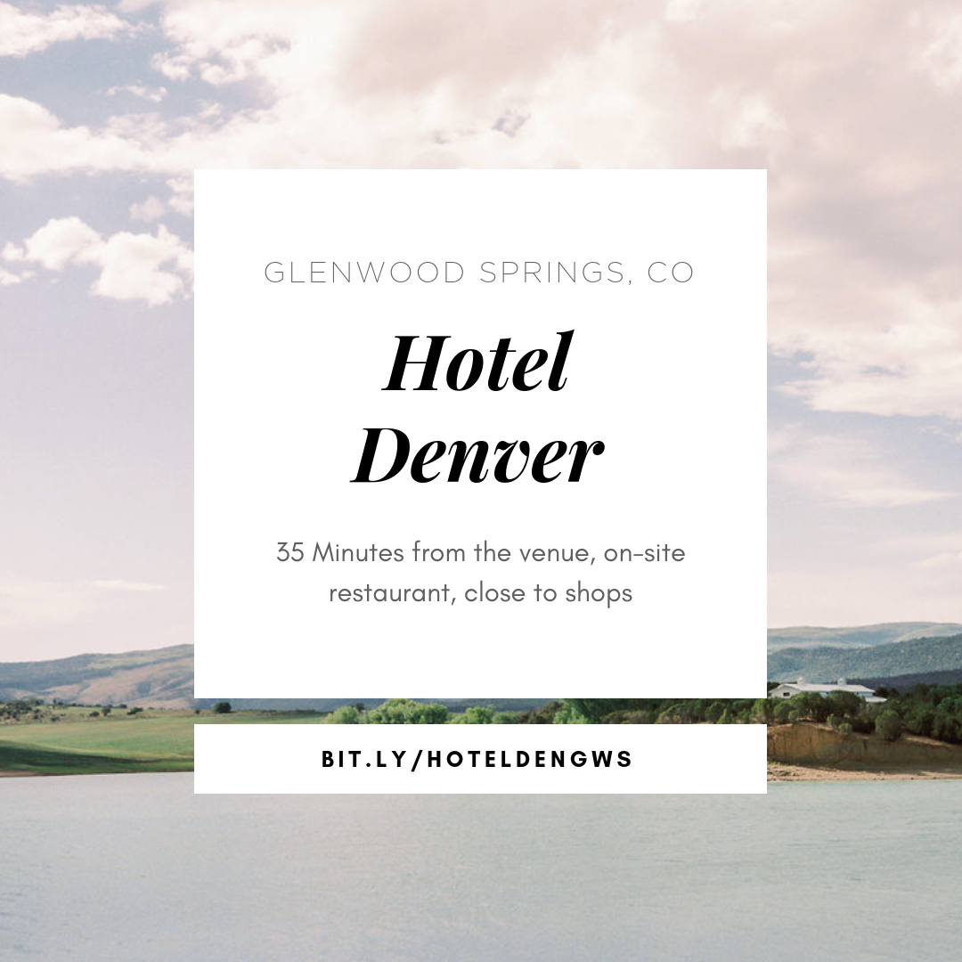 Accommodations in Glenwood Springs for Wedding Guests
