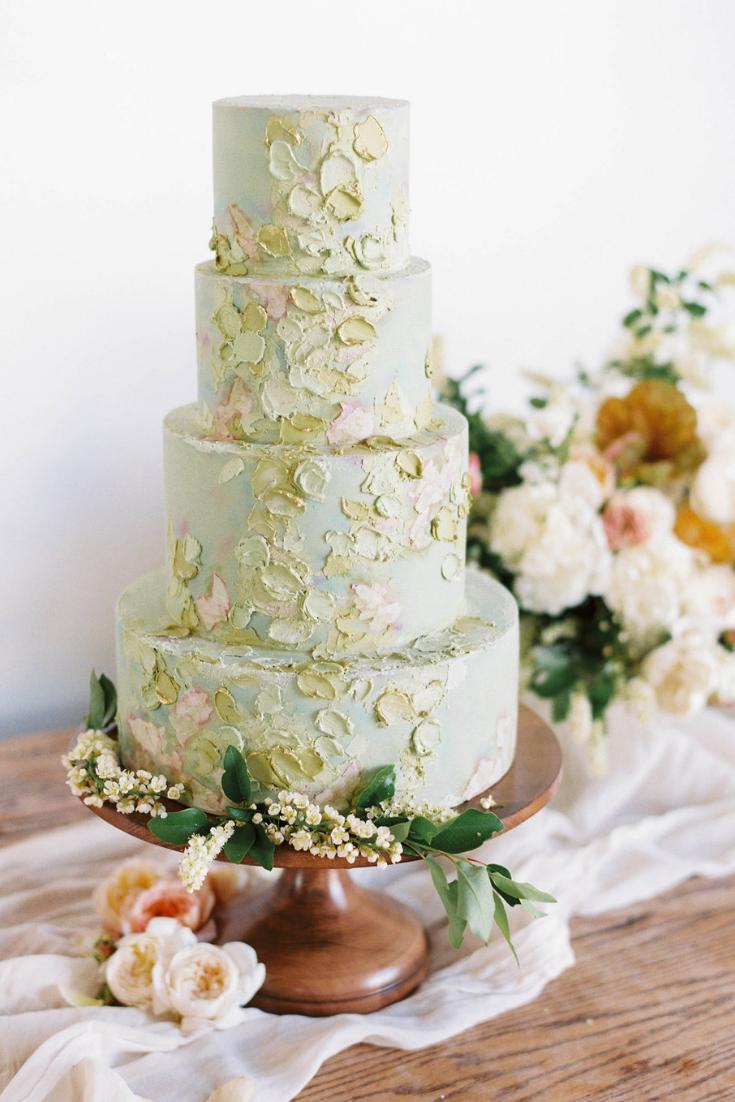 Simple And Elegant Wedding Cake Inspiration Mountain Wedding Venue In Colorado
