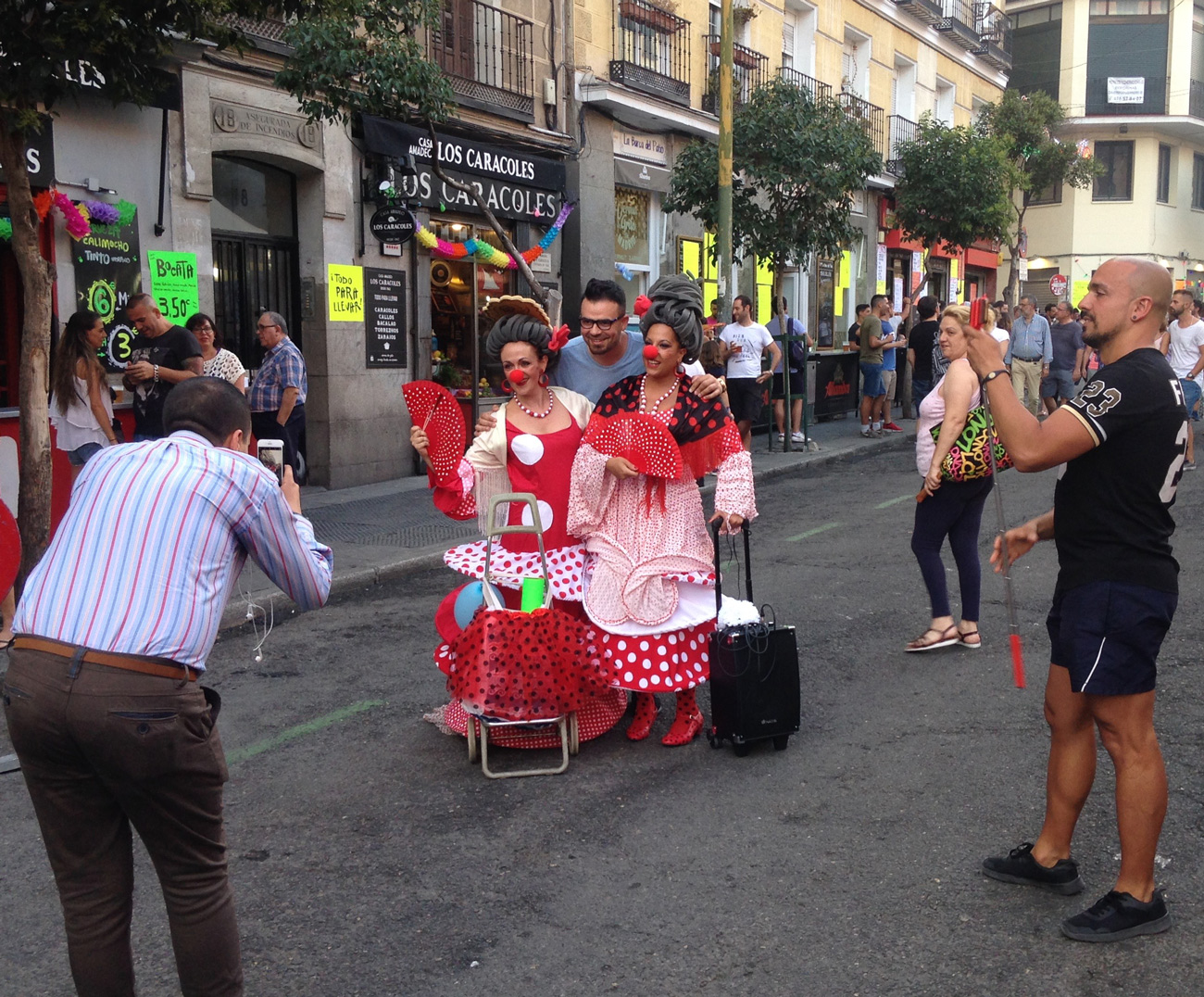 "Pasacalles ""Flamenclown"""