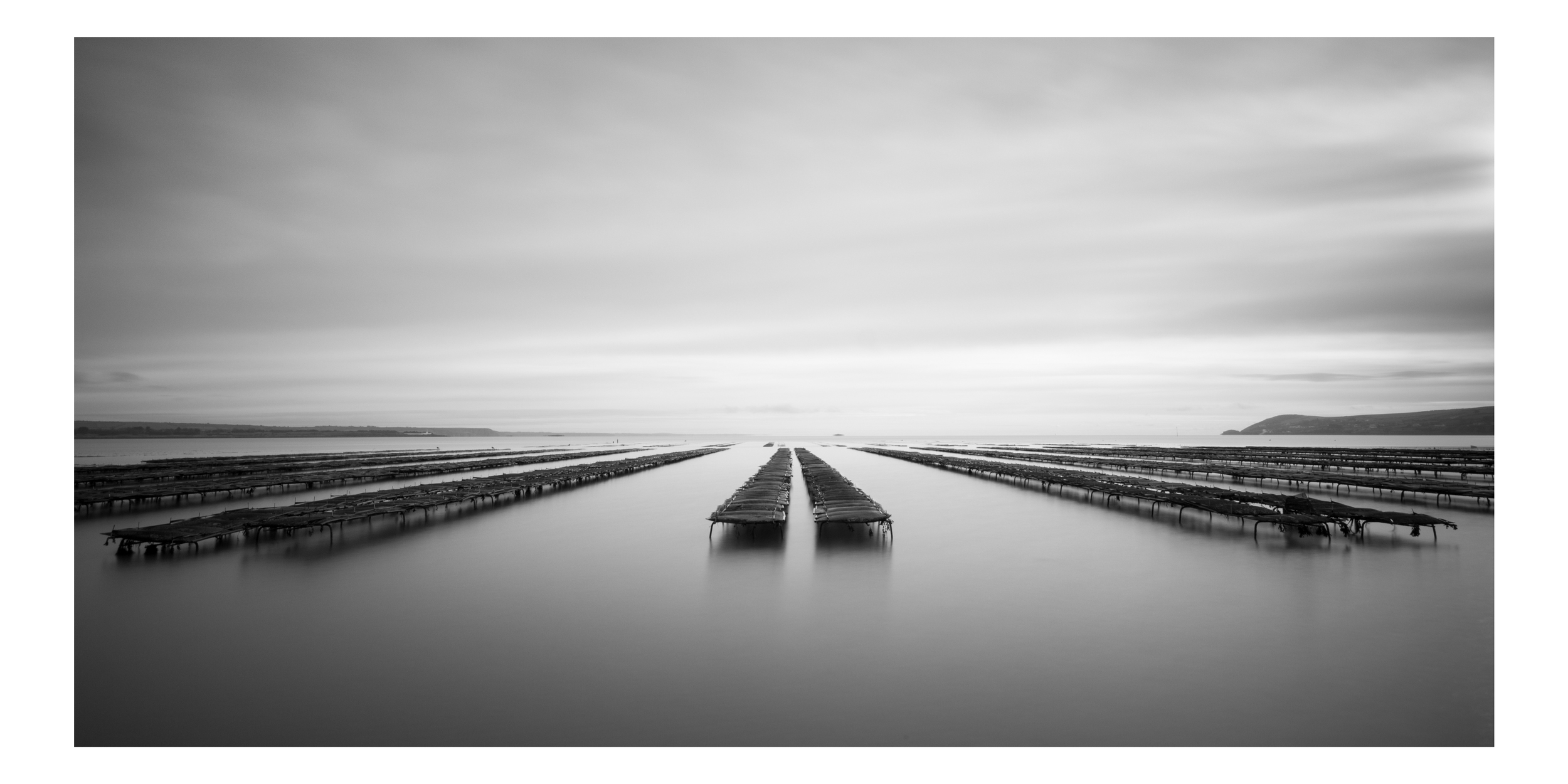Cunniger Oyster Beds - Taken at Dawn on the Cunniger in Ring, at very low tide