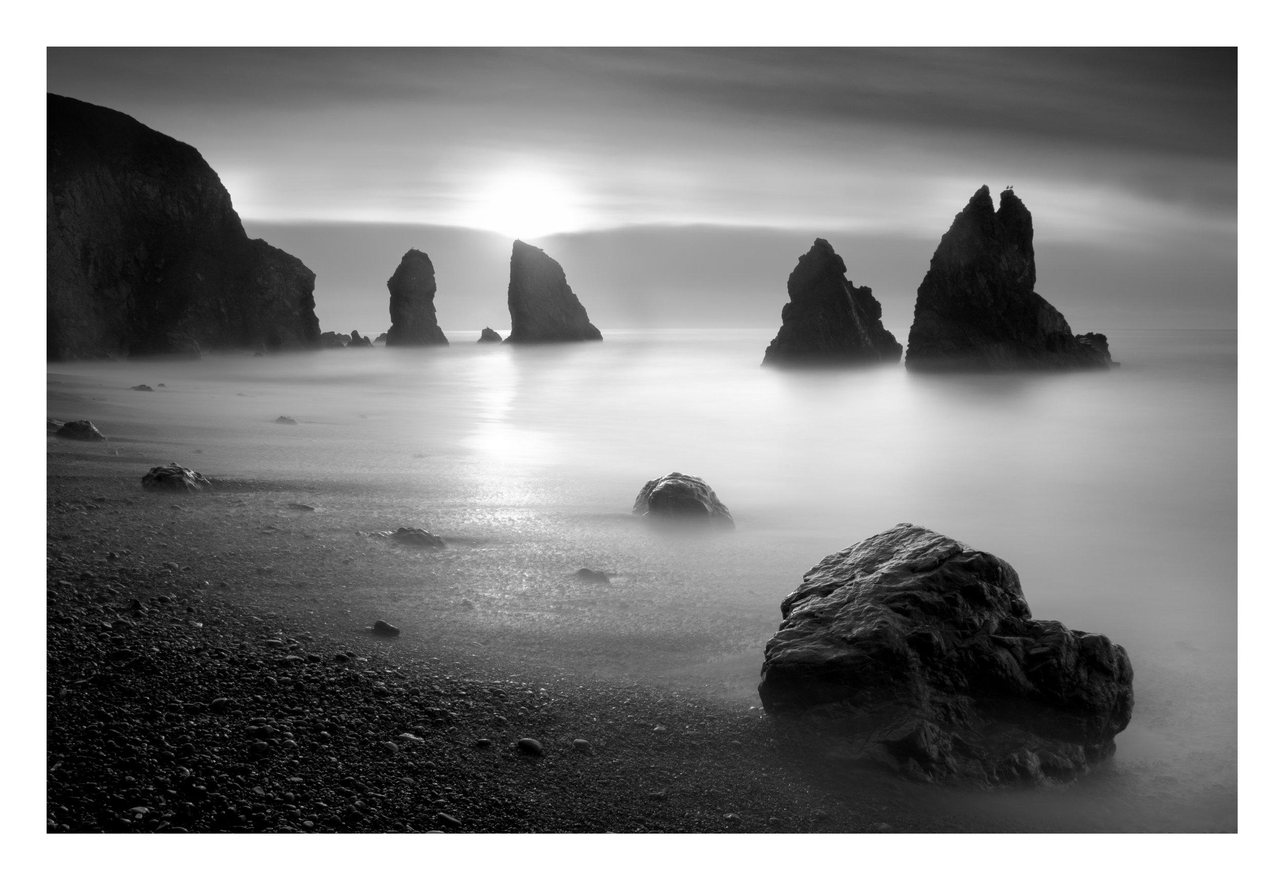 Image taken at dawn, unfortunately into the sun.