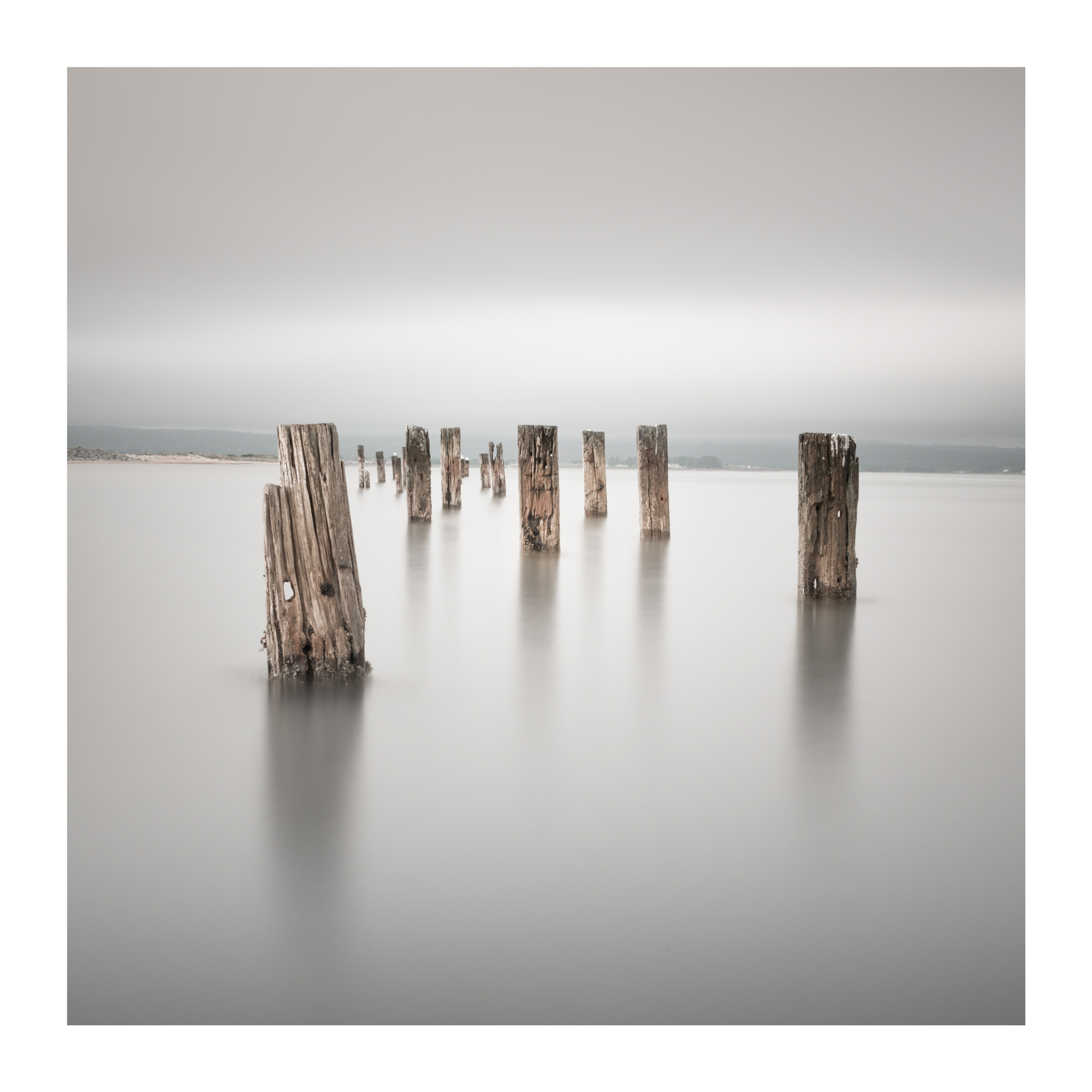 Cunnigar - Image of the Groynes on the Cunnigar in Ring , Co Waterford