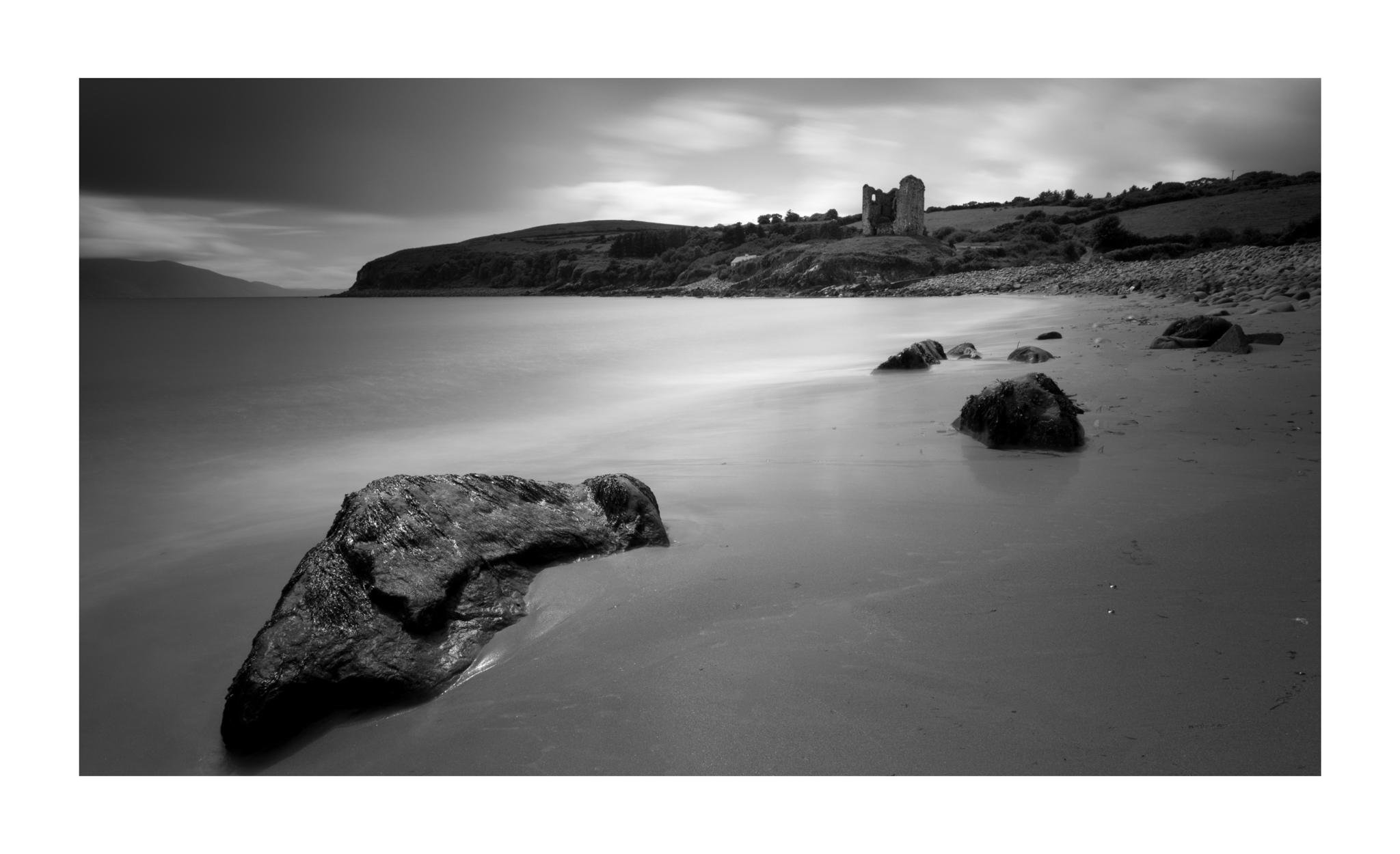 Minard castle near Annascaul , Dingle  4