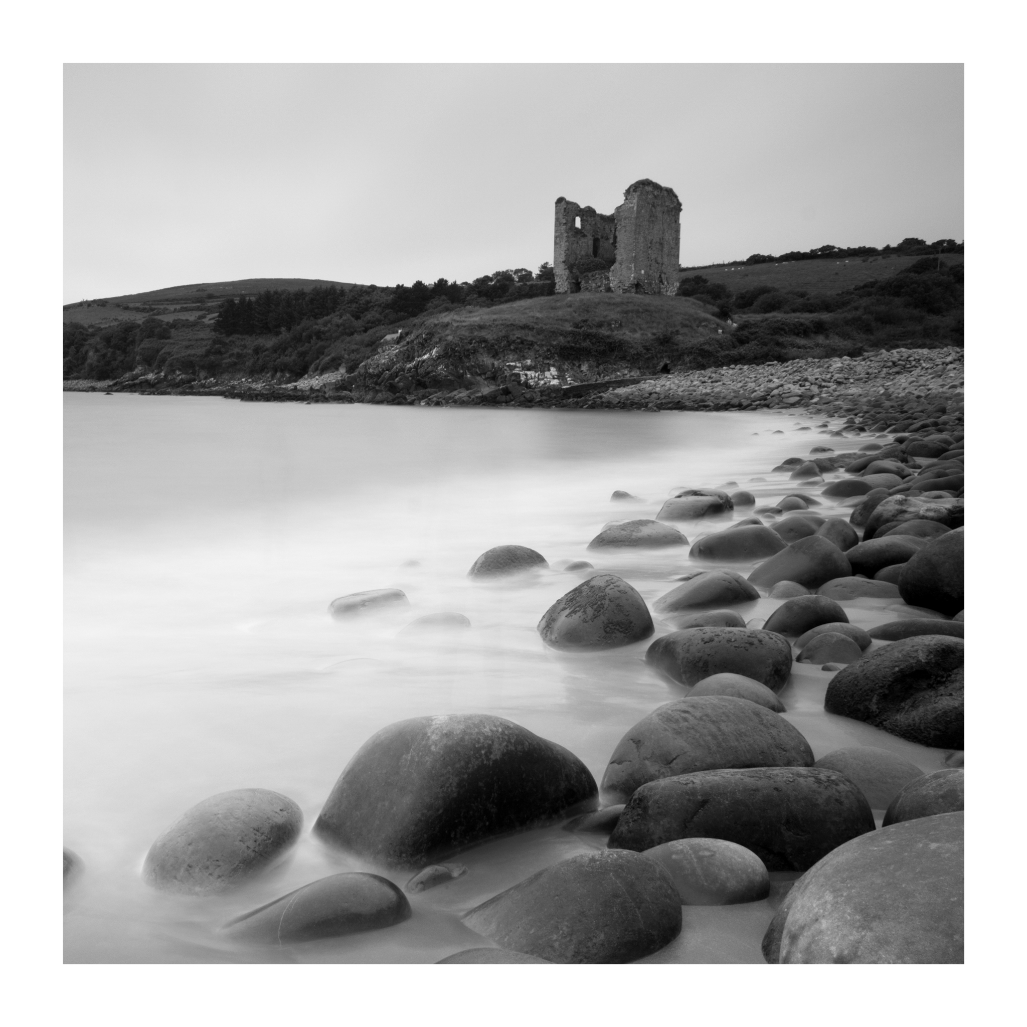 Minard castle near Annascaul , Dingle