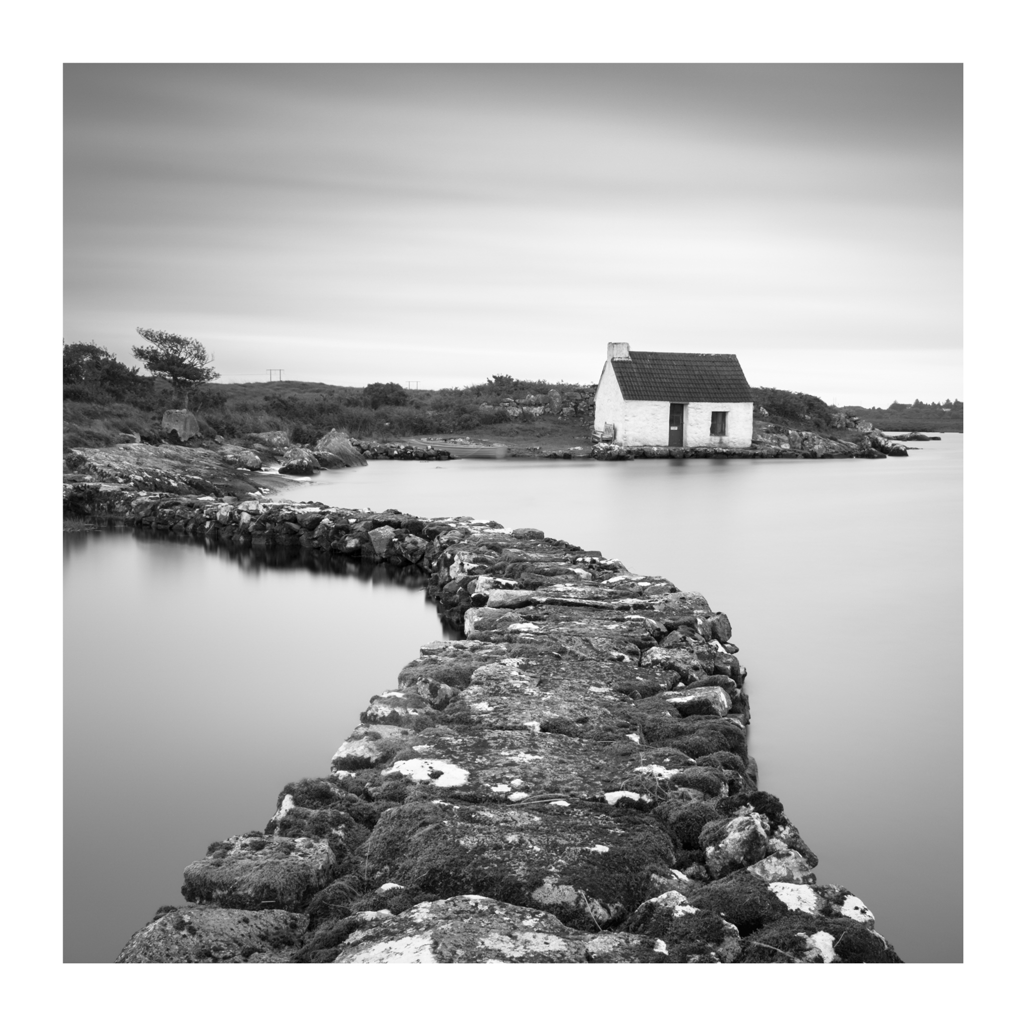 Screebe Fishing hut, Connemara