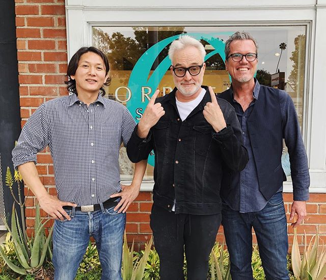Loyal client Bradley Whitford always leaves Orpheum Salon looking sharp for his next venture thanks to his stylist, Yoshi! . . . . . . #bradleywhitford  #orpheumsalon #aveda #styledbyaveda #naturallyderived #smellslikeaveda #avedacolor #avedaartist #avedastylist #avedasalon #pasadena #southlakeavenue #hair #hairstyle #hairstylist #haircare #skincare  #naturalhaircare #naturalproducts
