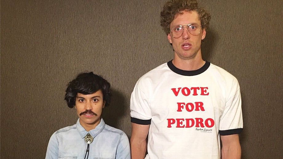ESPN - Hunter Pence goes all-out on Napoleon Dynamite costume