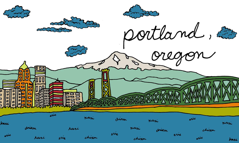 portland oregon city sea ocean skyline drawing illustration nicole stevenson studio design drawing.jpg