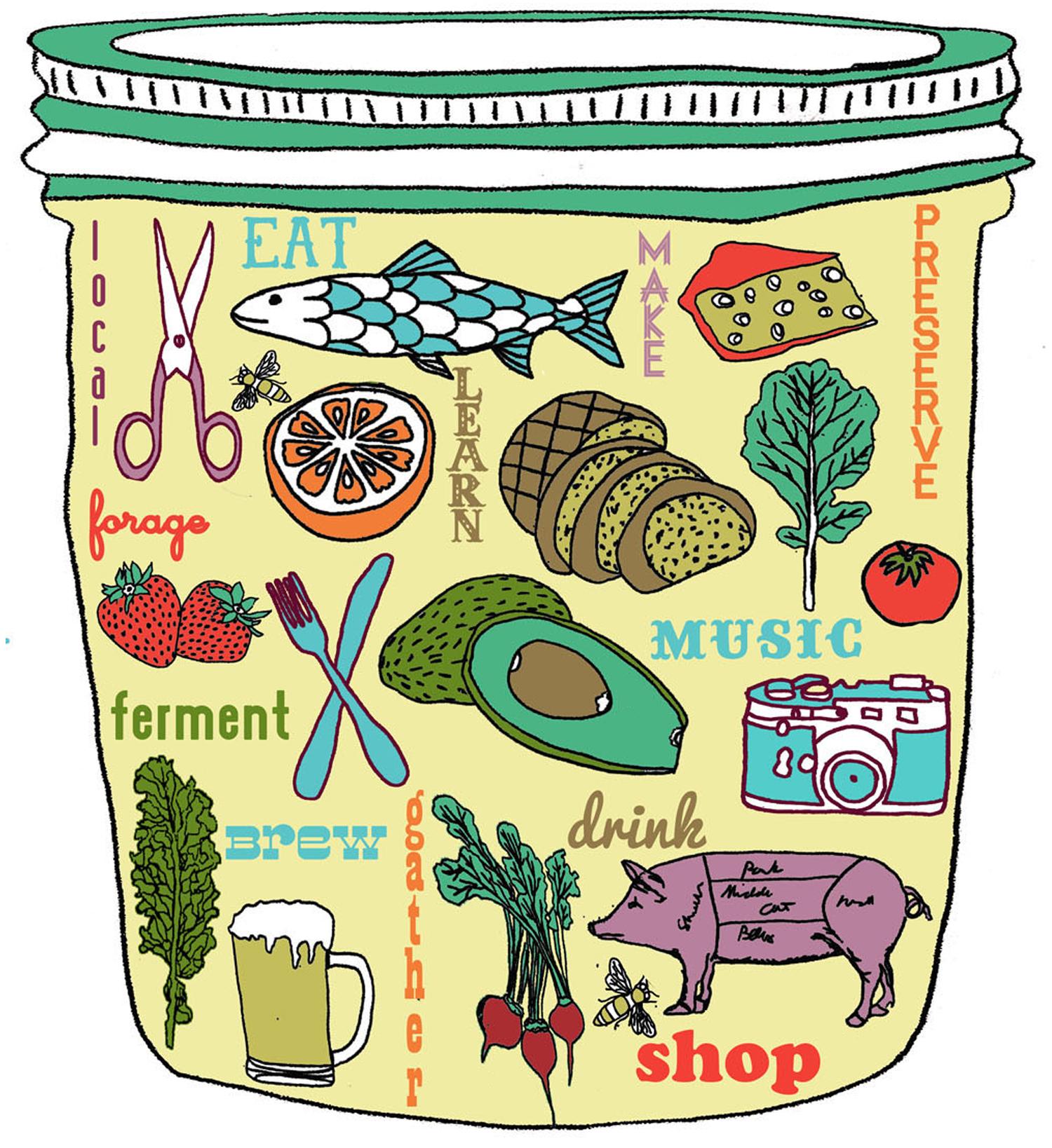 mason jar fruit food vegetable drawing illustration nicole stevenson studio.jpg