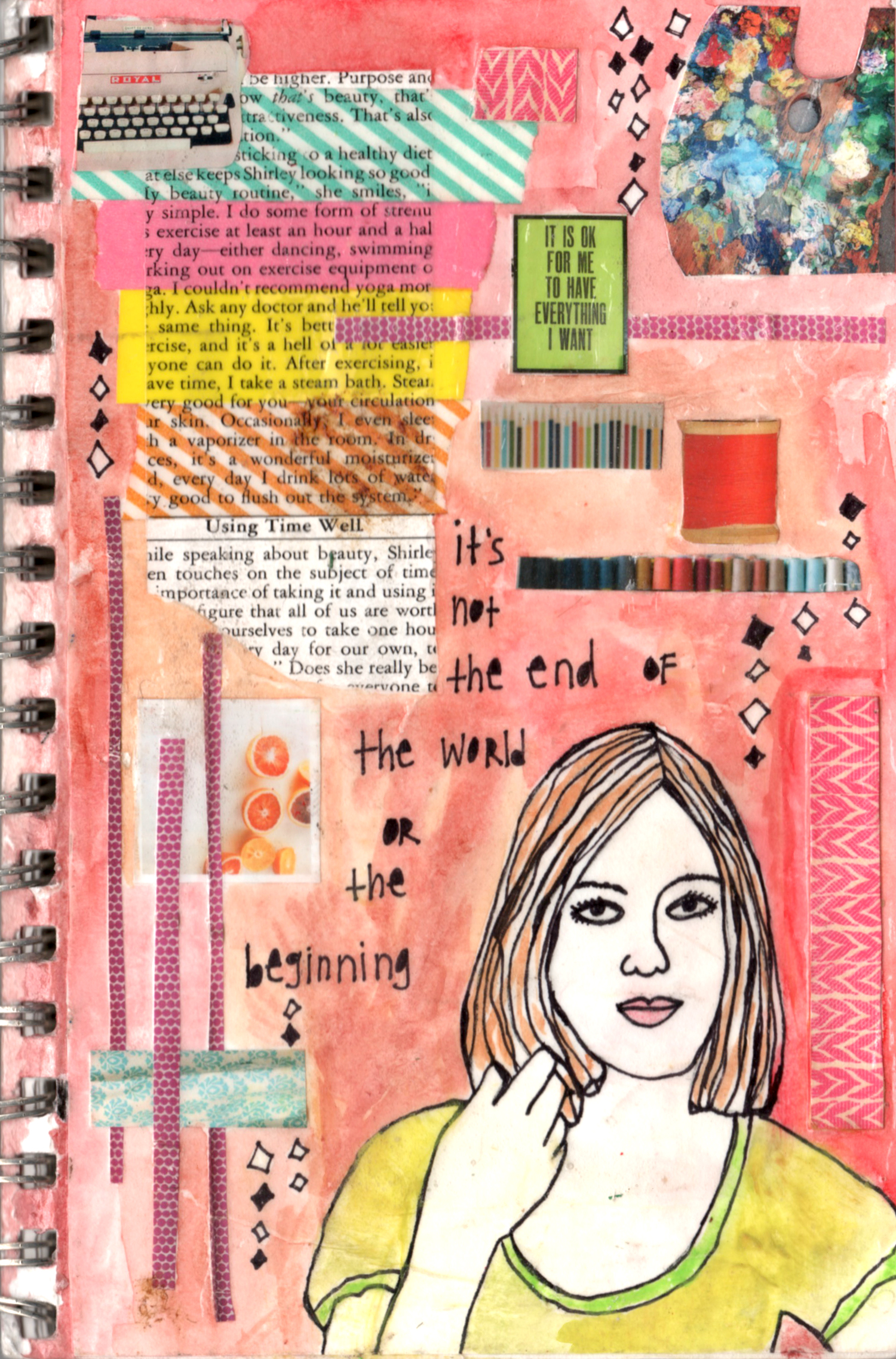 its not the end cover mixed media collage nicole stevenson studio.jpg