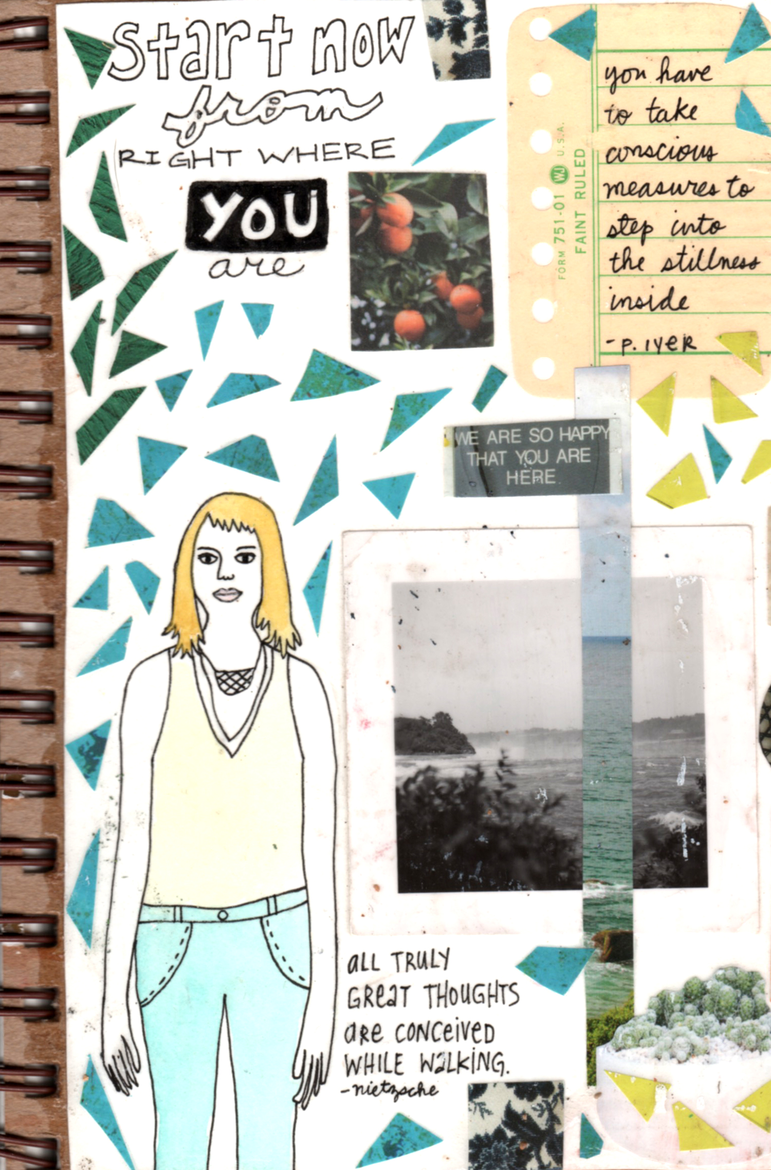 start from where you are cover mixed media collage nicole stevenson studio.jpg