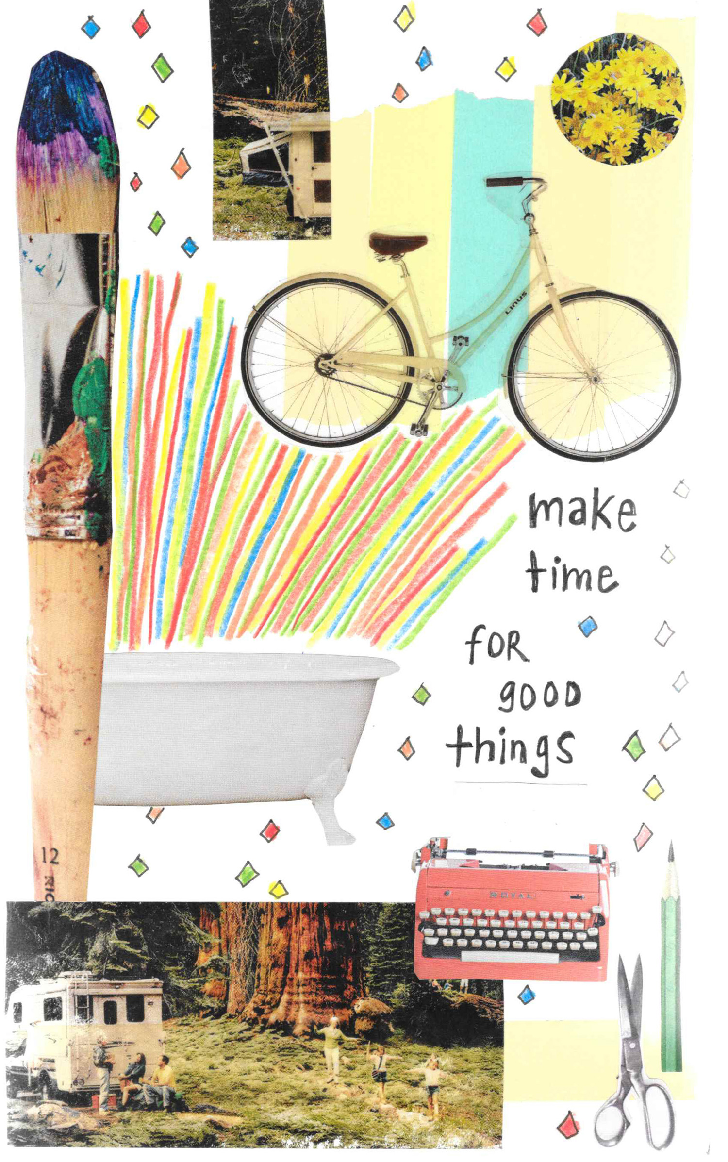 make time mixed media collage nicole stevenson studio.jpg
