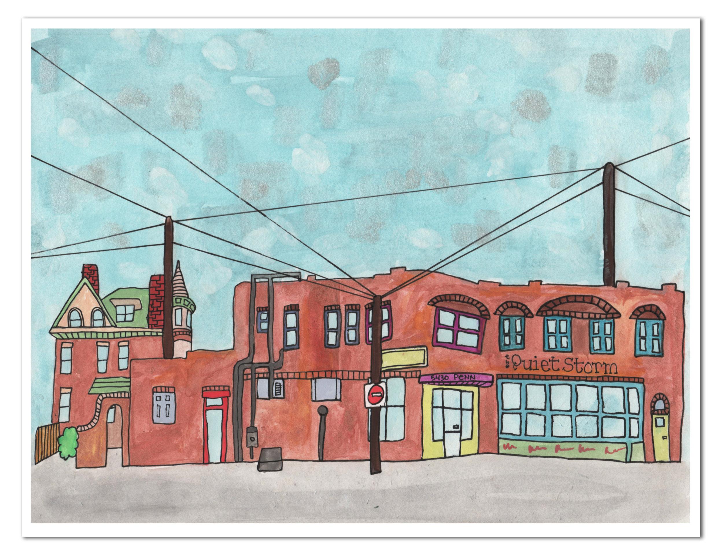 cusrtom watercolor house portrait city.jpg