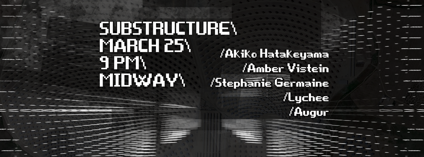 Substructure Flyer - March 2016