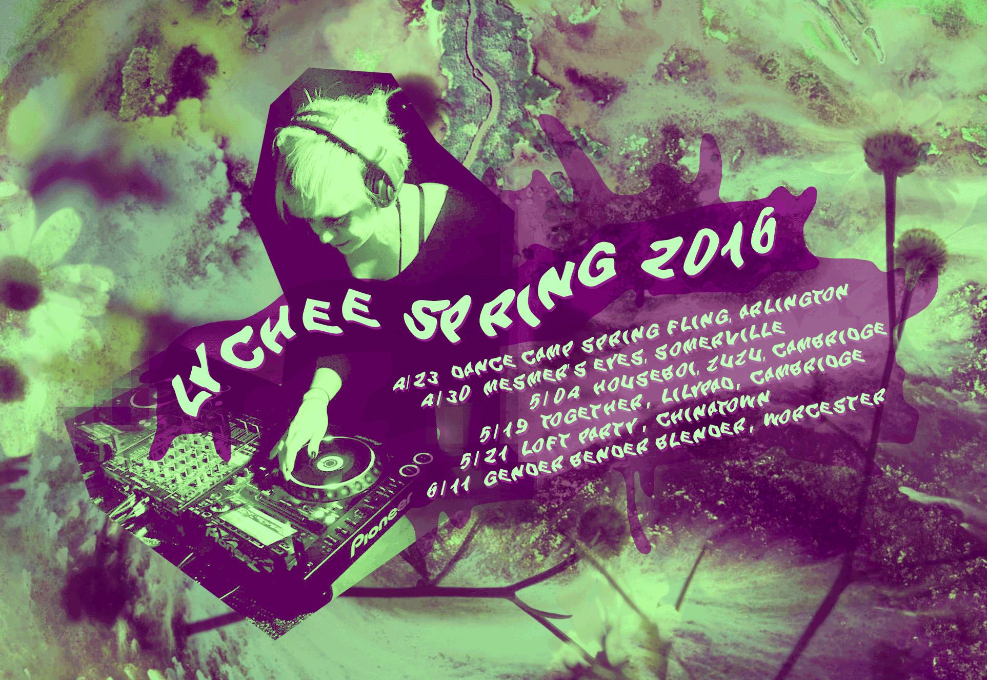 Spring 2016 DJ Schedule