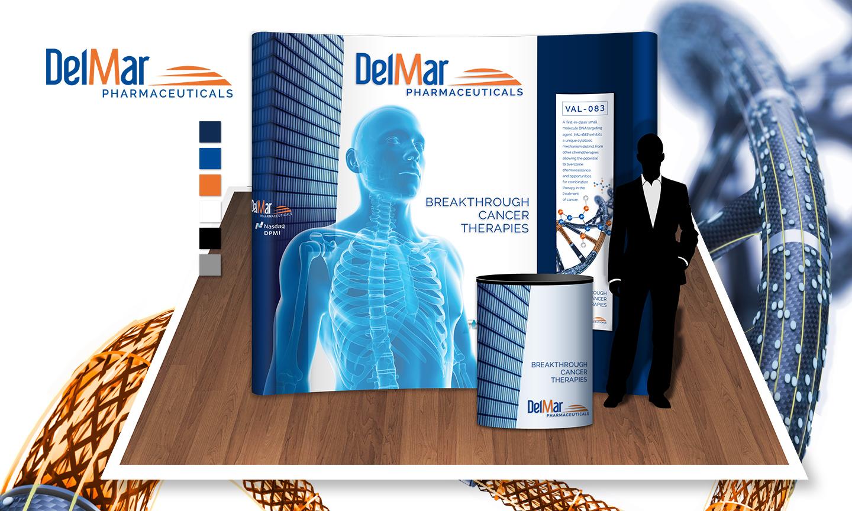 Brand Presence:  DelMar Pharmaceuticals