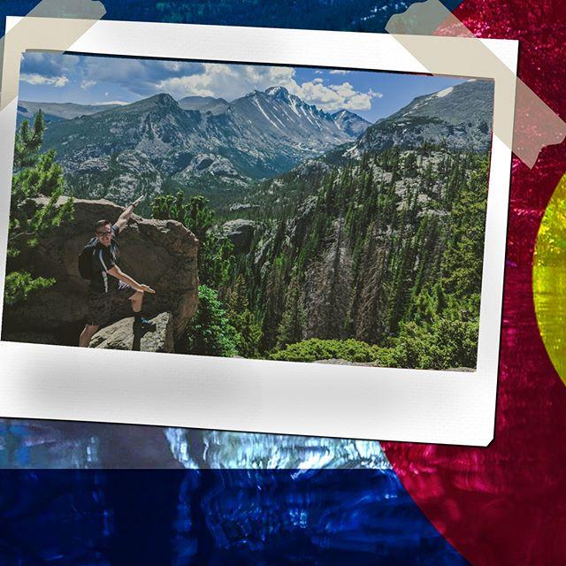 Ta da, I made this. - - - - - #inventurescouts #outdoorvibes  #neveridle #outdooradventures  #adventureinspired #adventurephotography #adventuregram #adventureseeker #adventuretrips #epicadventures  #nationalparks  #hikinglife #hikingphotography #wherewillwegonext #hikingadventures #hikinglife #takeahike #gtfoutside #findyourtrail #guidedhike #findyourwild #getoutside #gtfoutside #summer #keepitwild #wildernessculture #rockymountainnationalpark #hikecolorado #estespark #mountains