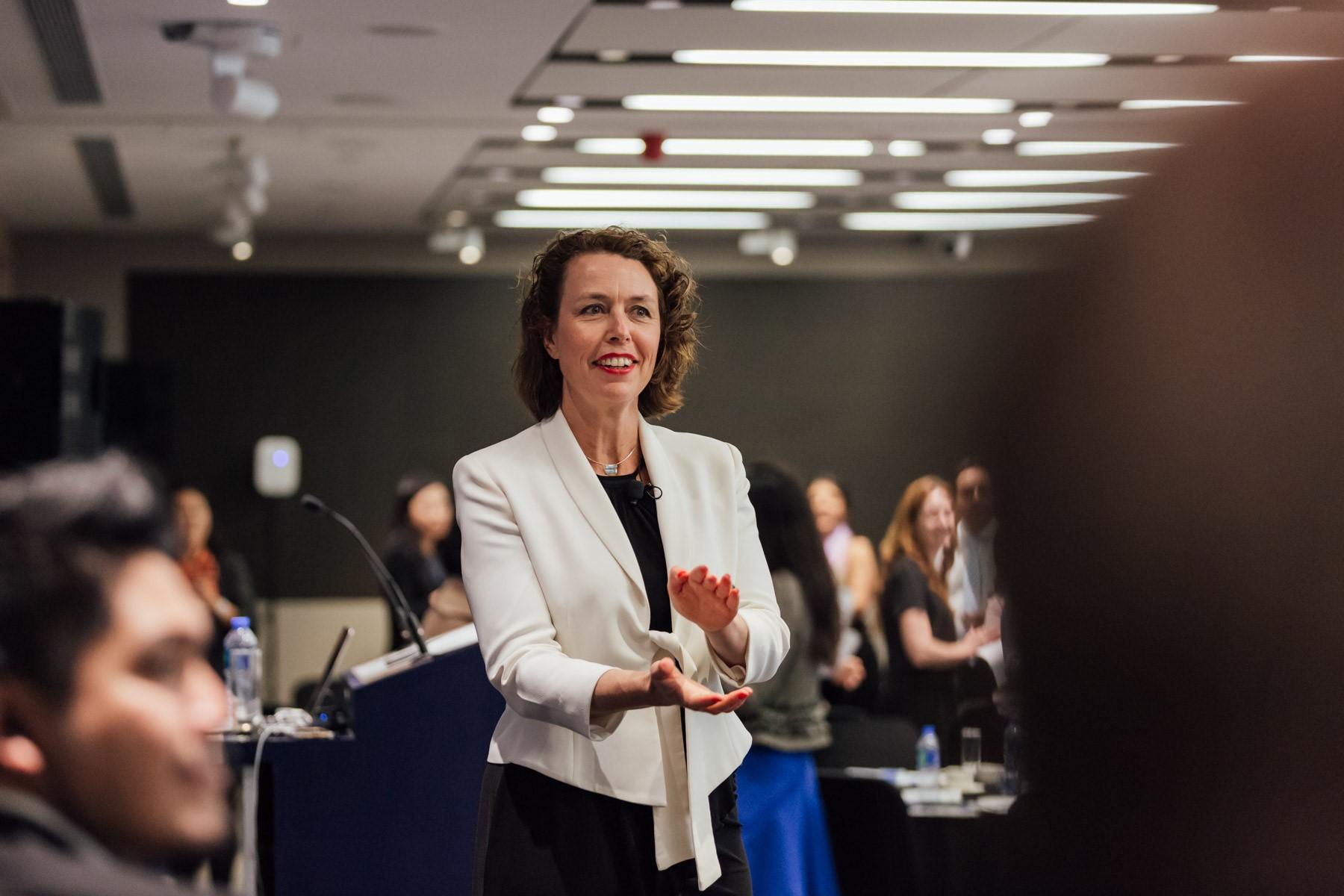 Lucy Cornell Keynote Speaker on Voice in Hong Kong