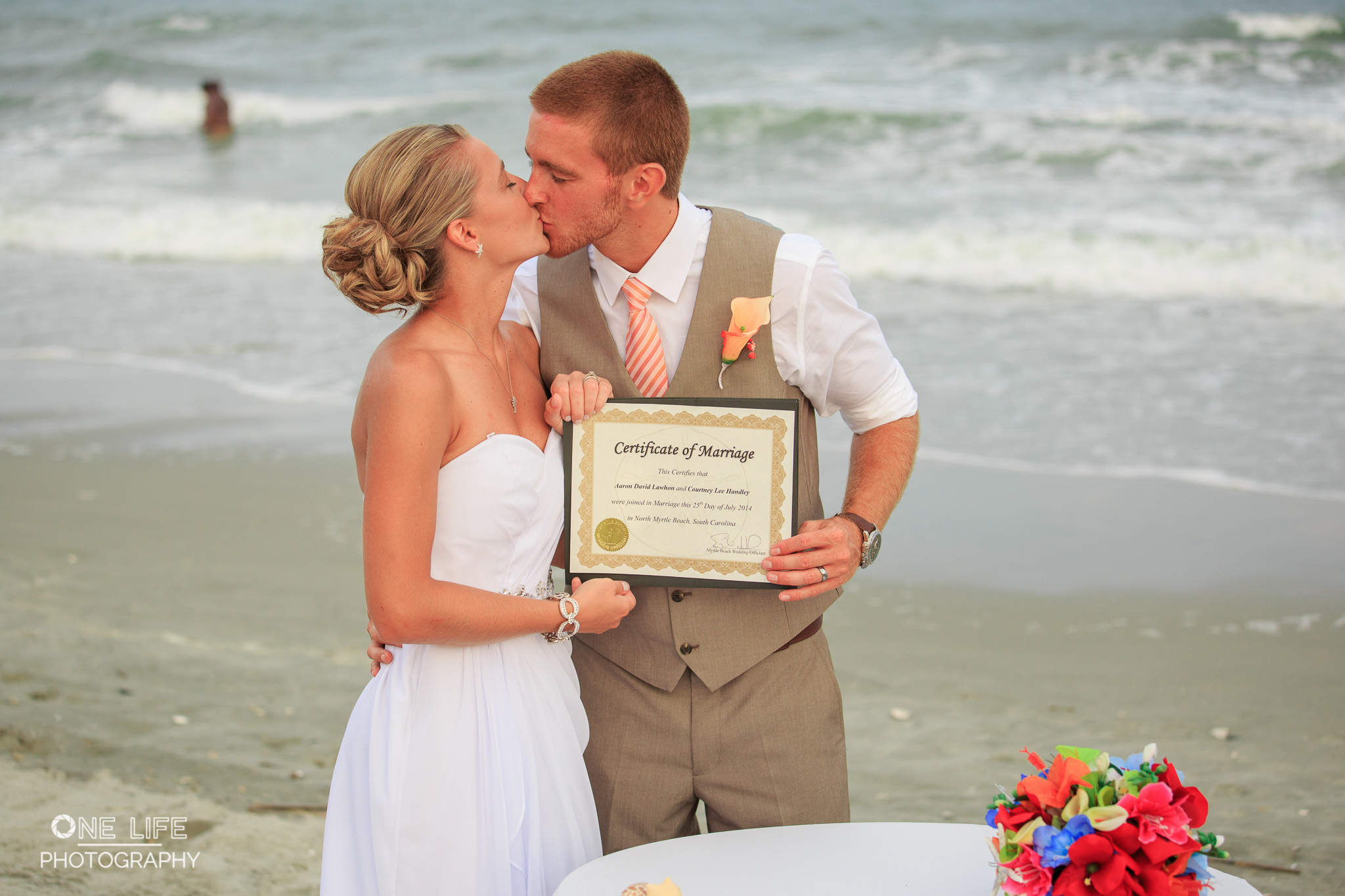 North Myrtle Beach Wedding, One Life Photography