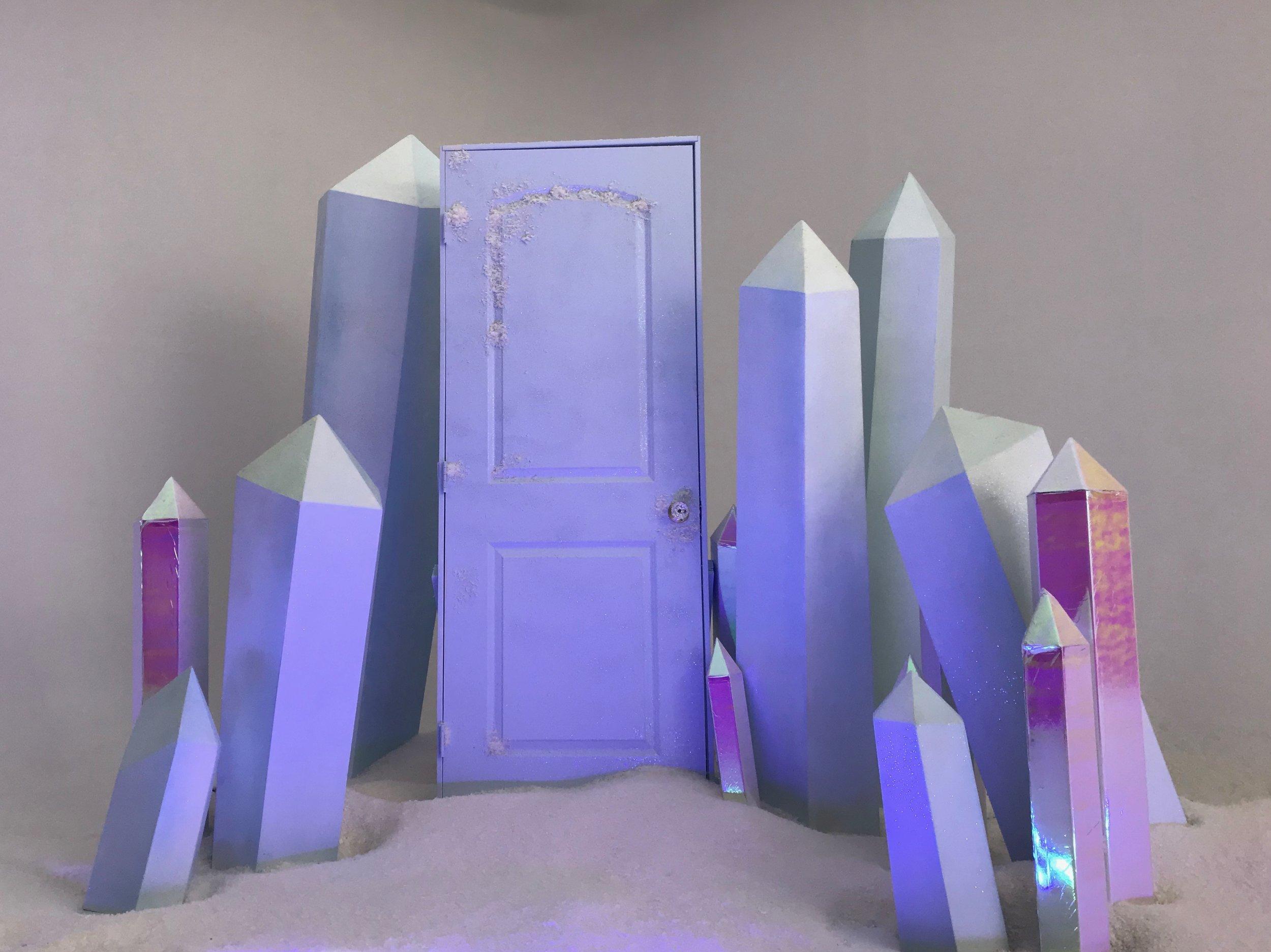 Joey Graceffa, Kingdom - Crystal + Door Design and Fabrication