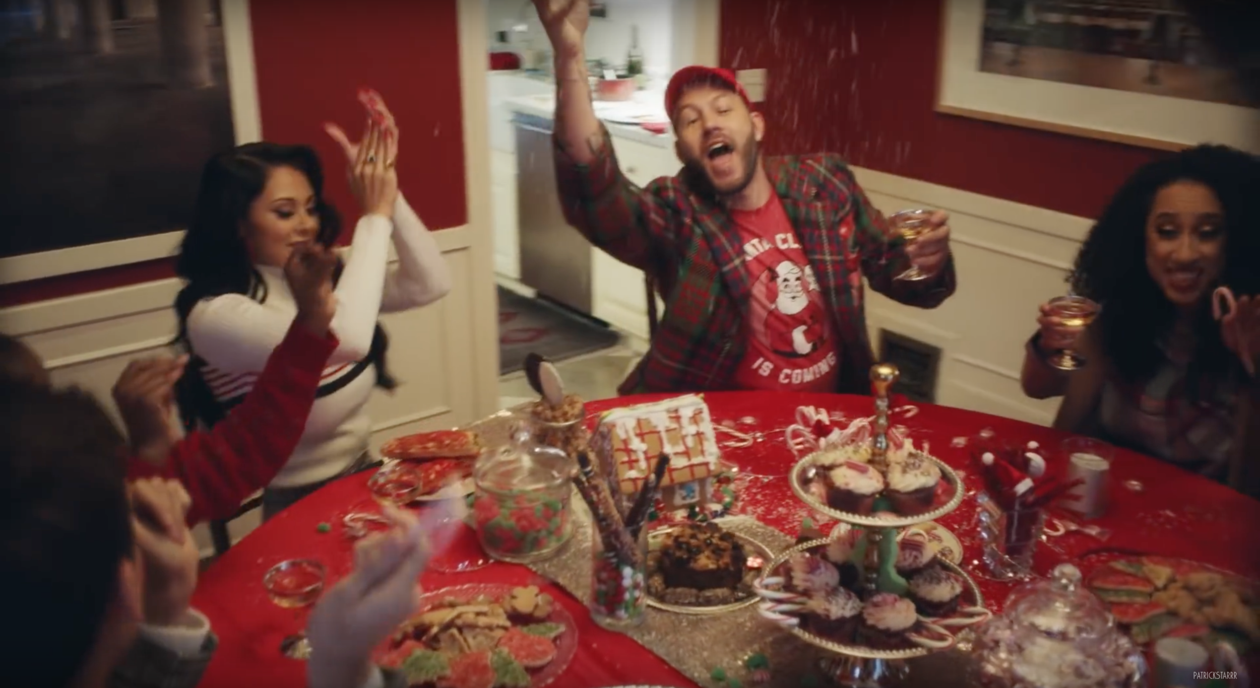 Patrick Starrr, Oh Santa | Music Video