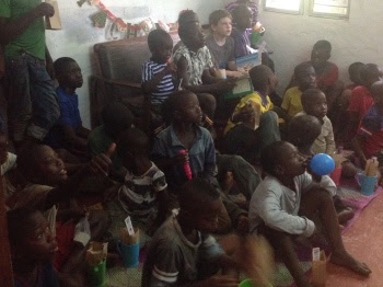 Christmas Party with Neighbourhood Children