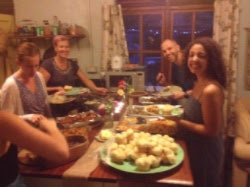 Canadian Thanksgiving Feast I hosted... Because you can never have too much thankfulness!