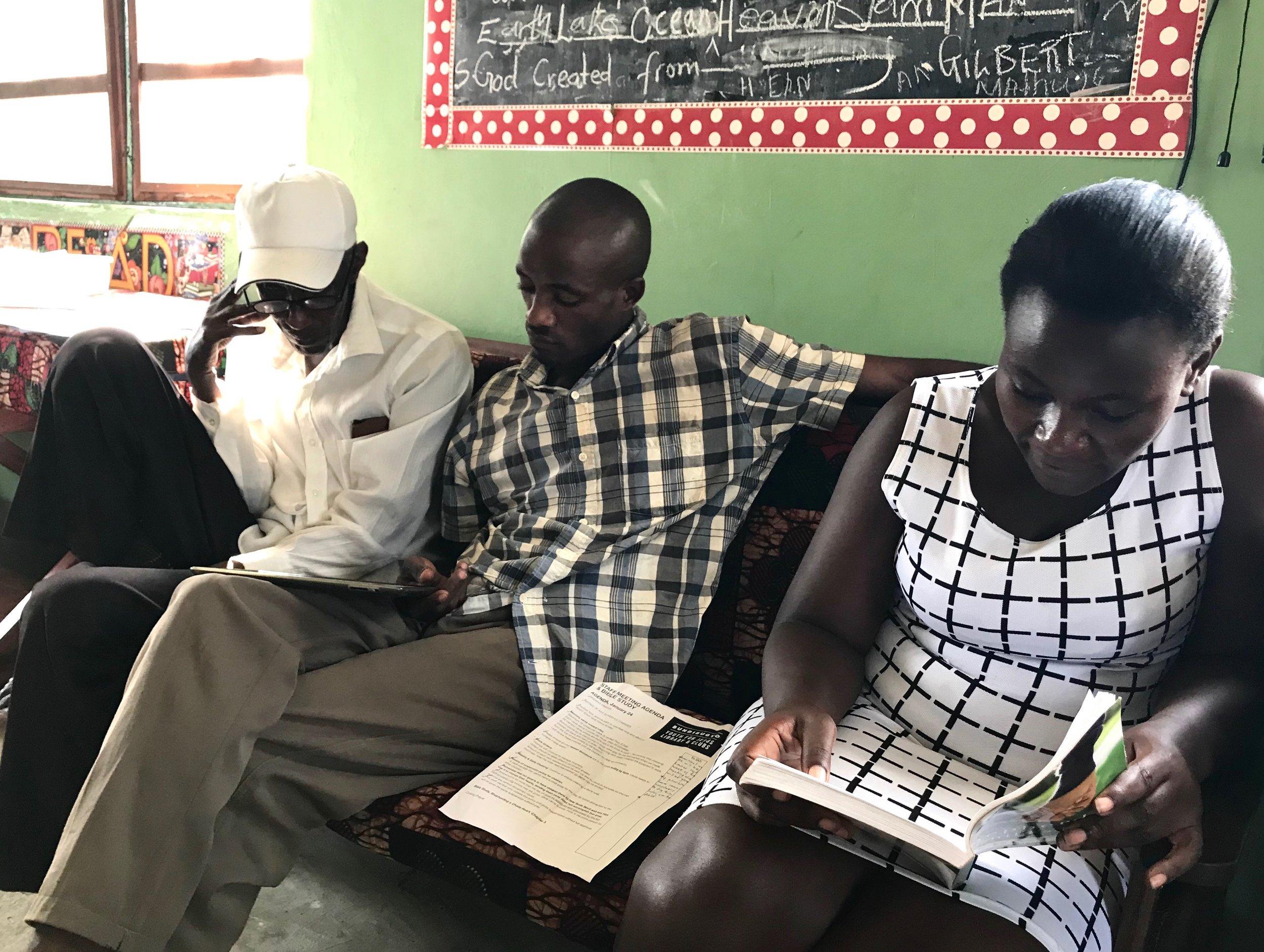 Staff Training & Bible Study