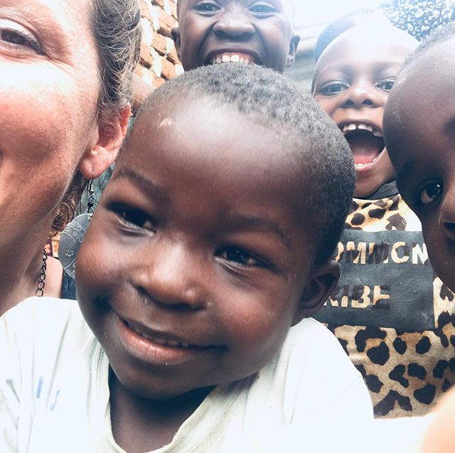 """Prepping for training next week and the prize """"store"""" tomorrow. These guys, including my Ugandan Mama were wanting to learn how to take their own selfies 😆 (oh America, what have we taught the world?!) And then... these little rascal friends of mine wanted their own portraits or as they call them """"snaps"""" ❤️"""