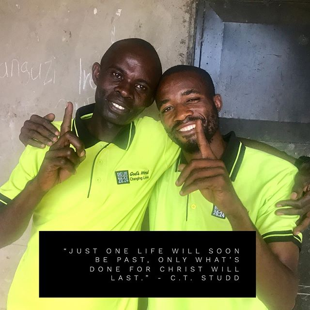 Our volunteers Reminding us we all have One Life to live, let's invest in one life around us for Jesus and His kingdom 😊. Happy weekend friends!