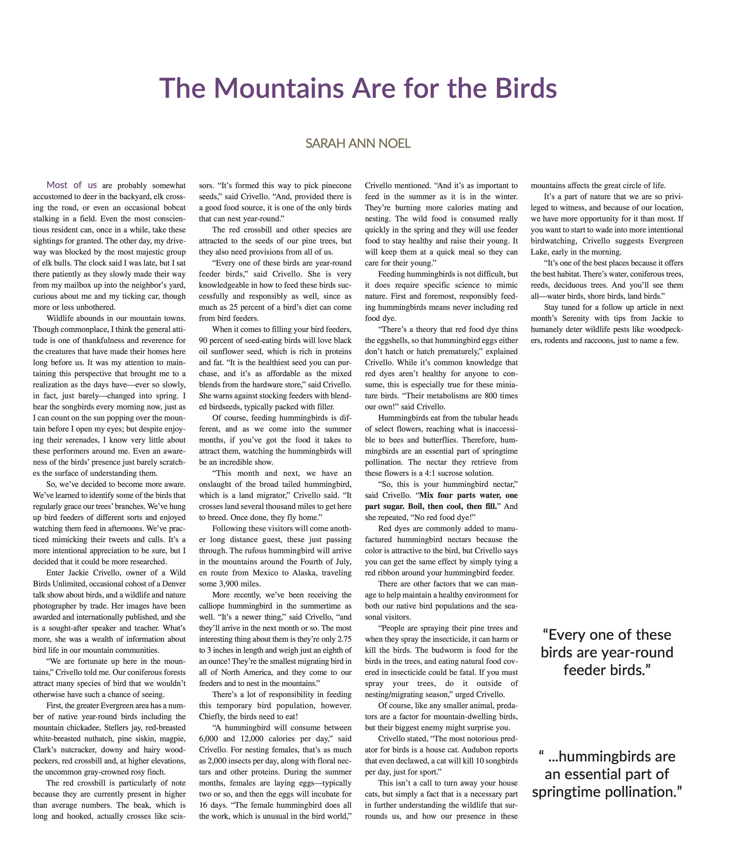 Feature-The Mountains Are for the Birds.jpg