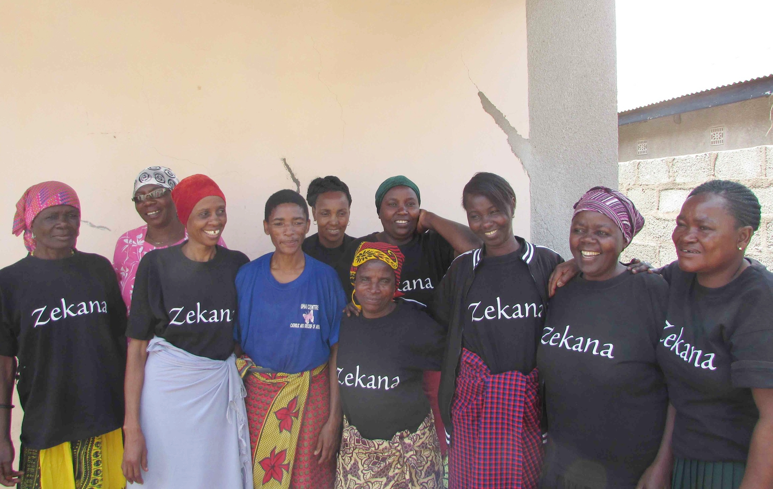 The Zekana woman, which is a group of Eleven woman, Ten bodies.