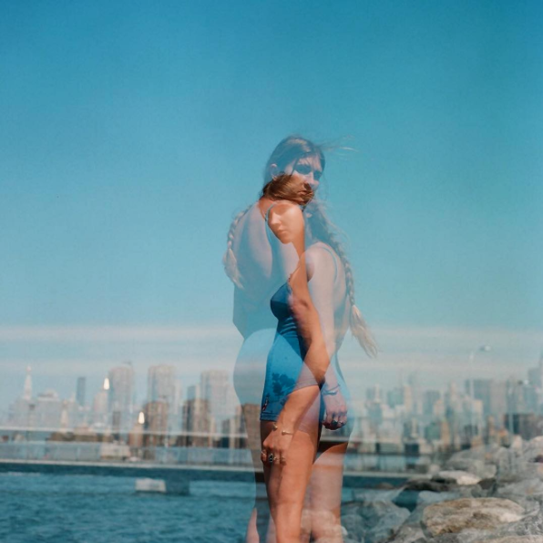 A double exposure from Amanda Bjorn, an LA and Miama based photog.