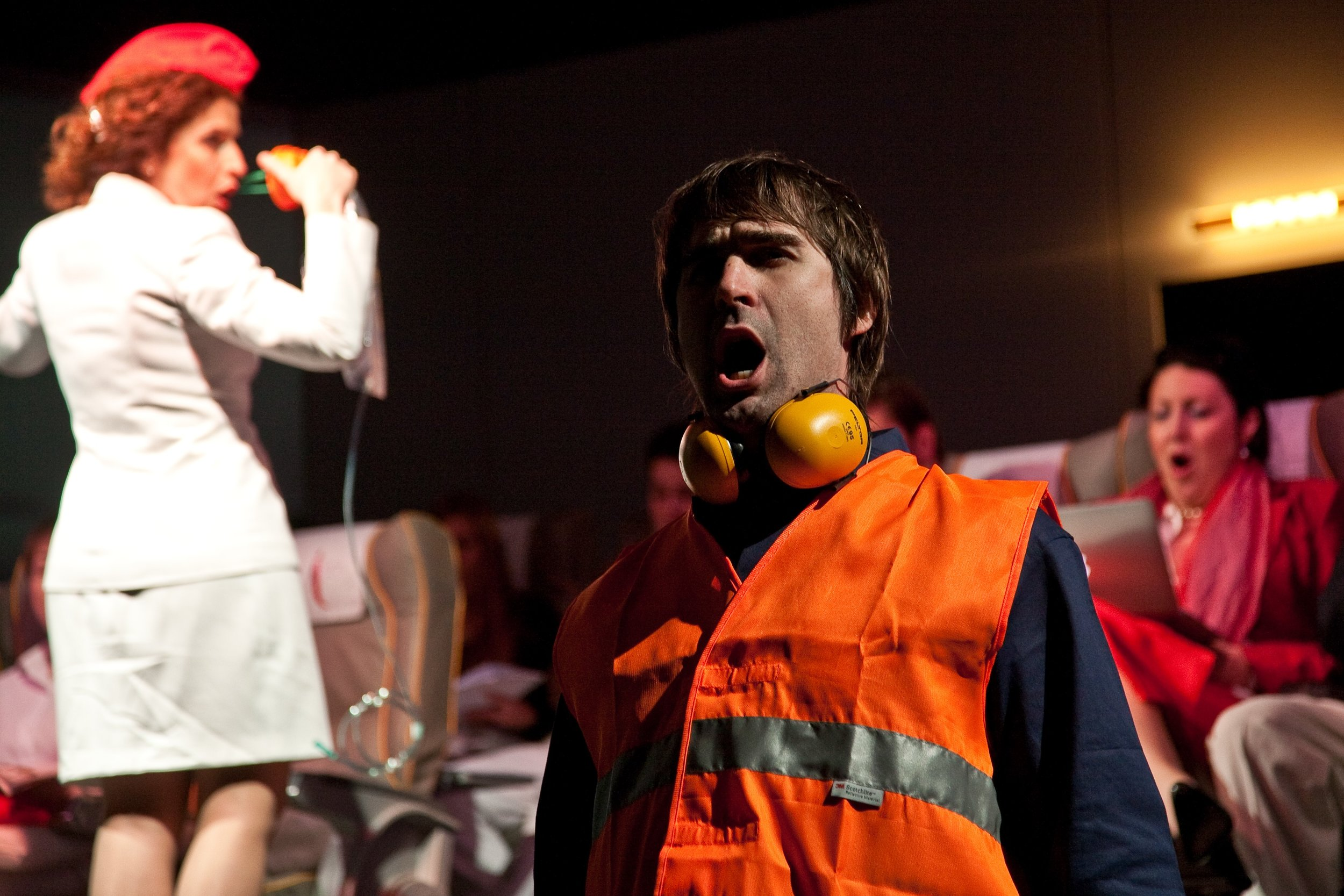 2011 Production in Verbania Italy of Airline Icarus