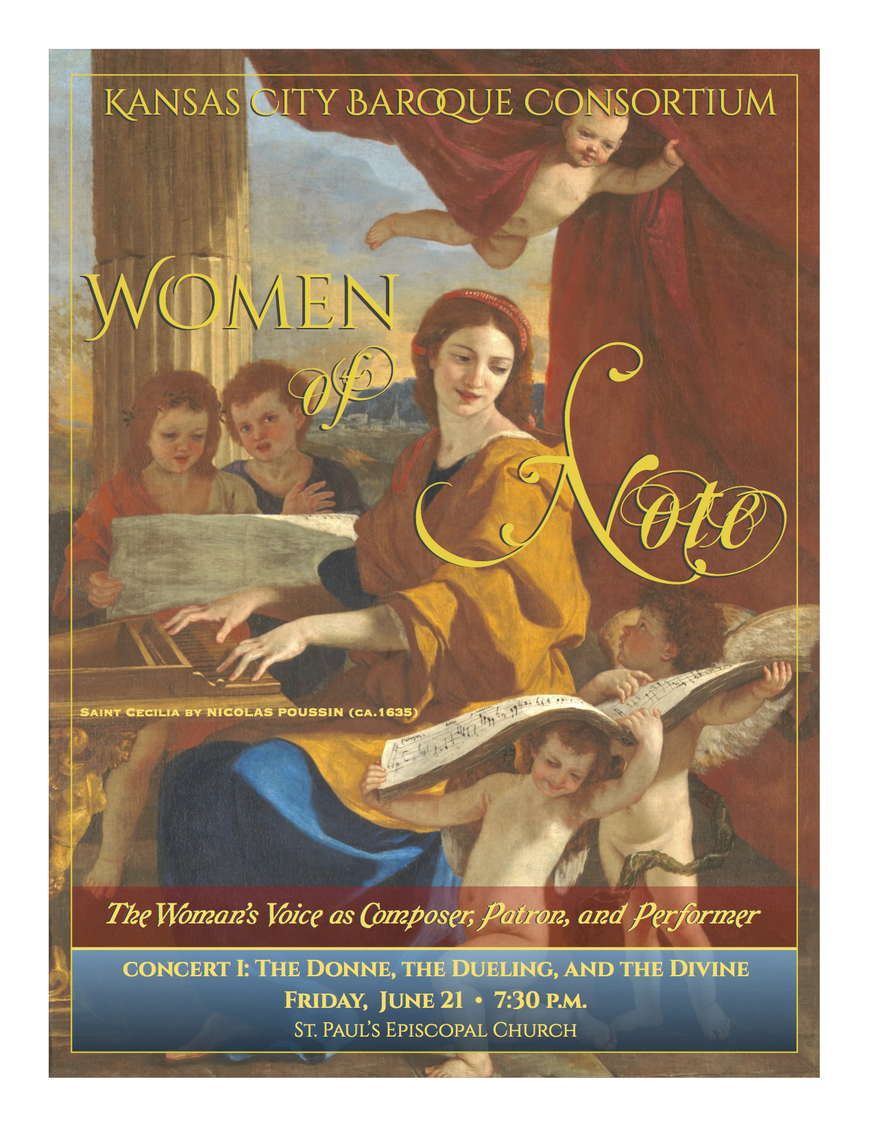 Concert I: The Donne, the Dueling and the Divine - View the Printed Program