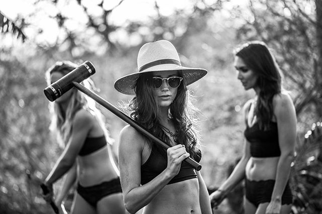 #MaderasLife Garden Party  #croquet and @knixwear  Where's Prince Tyson tho!? #gardenparty #fashioneditorial #fashionshoot #modellife