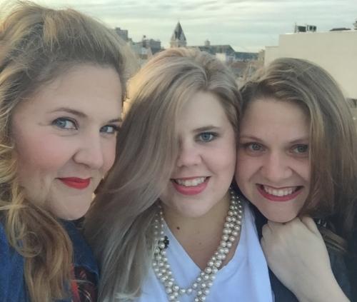 Shanna Sharp, Lindsay Morgan, and Colleen Harris
