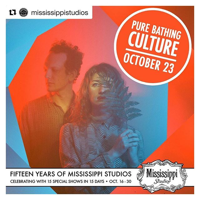 We're so happy to have been invited to join this bill with @purebathingcult in celebration of @mississippistudios 15yr anniversary. Also performing is @marisaandersonmusic, so it's for SURE a night not to be missed. We haven't played our beloved hometown since June, we'd love to see you on the 23rd, Portland! Tix link in bio. #lenoresings #purebathingculture #marisaanderson #mississippistudios  #Repost @mississippistudios ・・・ The Fifteenth anniversary hits keep on comin! The amazing, atmospheric Portland rockers recently released their excellent LP Night Pass, and now they have so many jams to choose from love that it's basically 100% greatest hits. Can't wait to have them back at the Studios on October 23 with more guests TBA! Tickets go on-sale Friday!