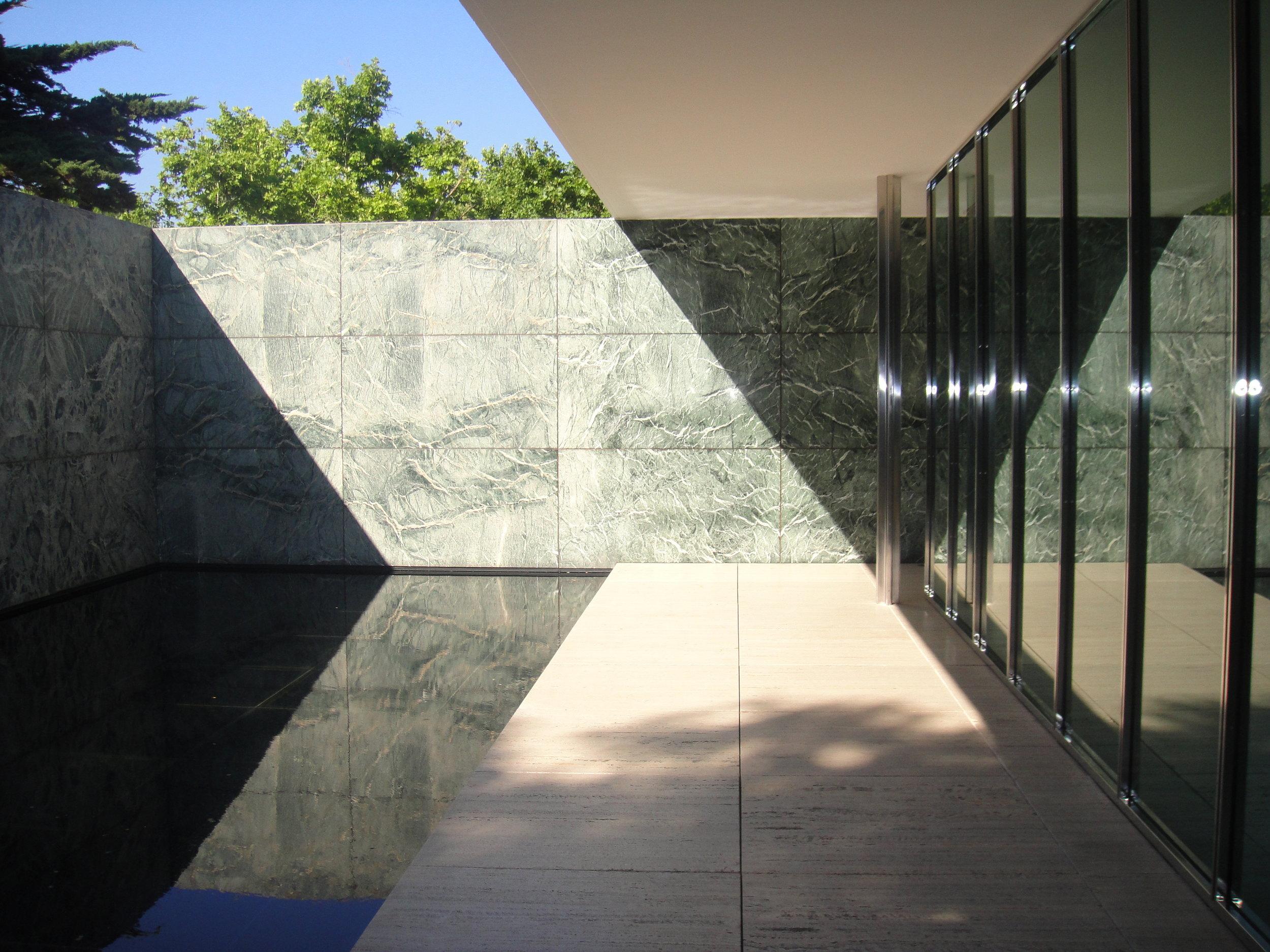 Mies van der Rohe's German Pavillion