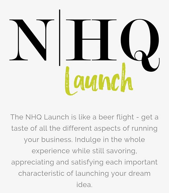 Wanna know what a NHQ LAUNCH is? Check out our snazzy lil' website, and learn more about Nicole & Heidi. #neonhq #lessworkmorelife