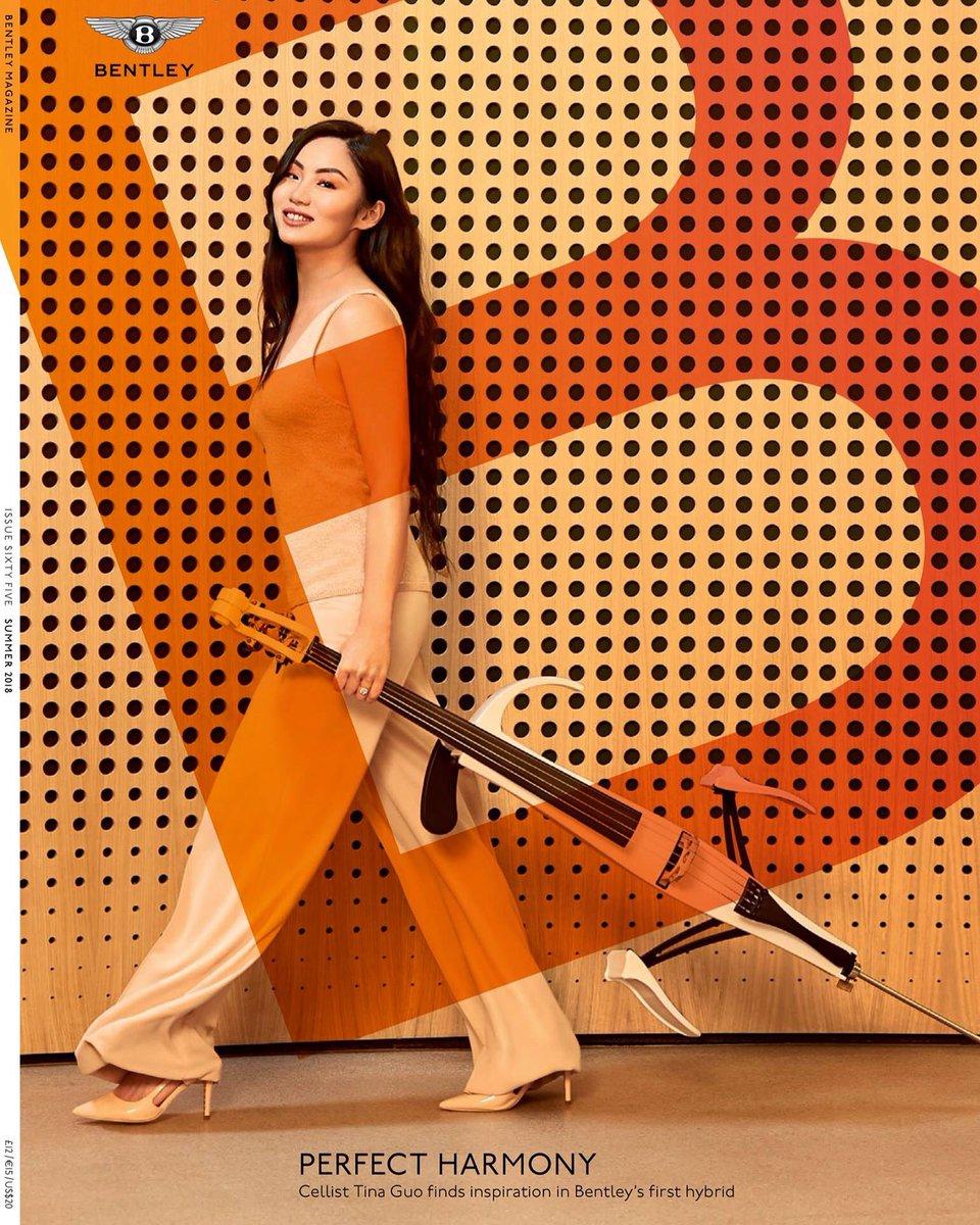 Bentley Magazine Cover Tina Guo