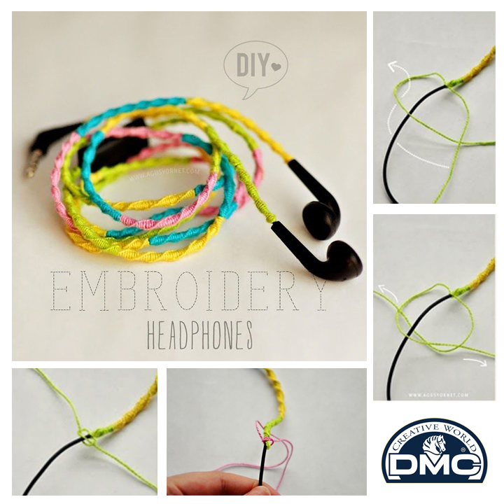 Want a cool headphone cover you can make? If you're looking for a cool DIY project that only takes a couple of minutes, then this is the one for you. Make your headphone unique by adding some color and a little personality to it.