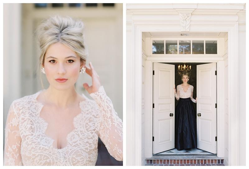 Seattle Wedding Florist Lakewold Elegant Bride