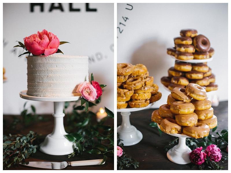 Coopers Hall Cake Oregon Wedding Flowers