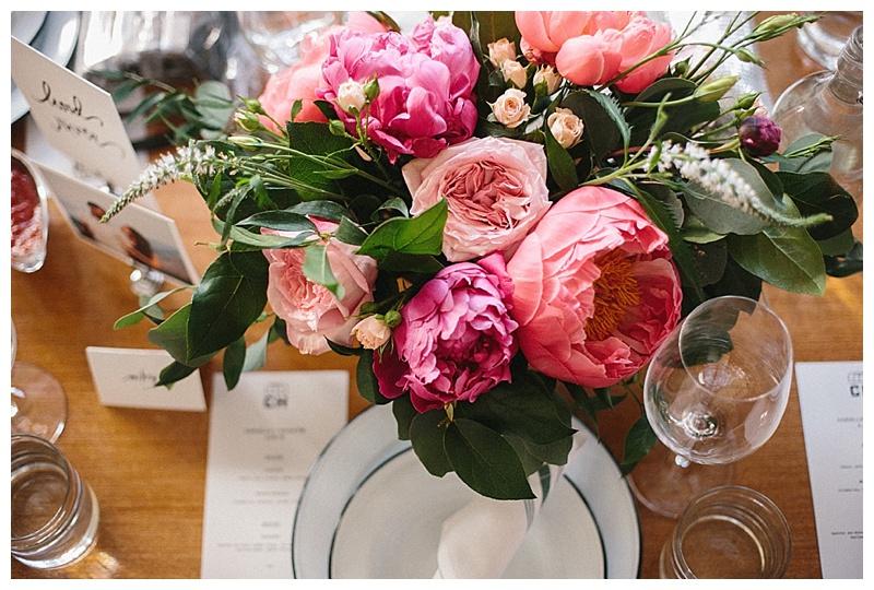 Portland Wedding Coopers Hall Florist