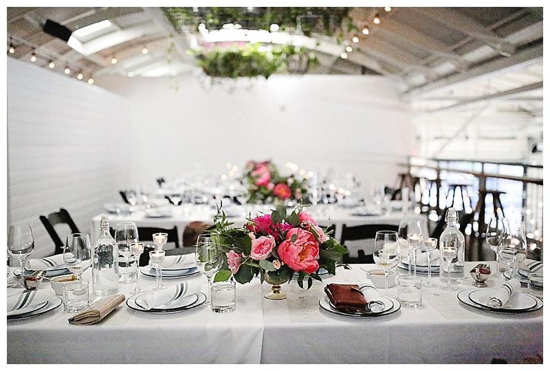 Portland Wedding Florist Reception Design Coopers Hall
