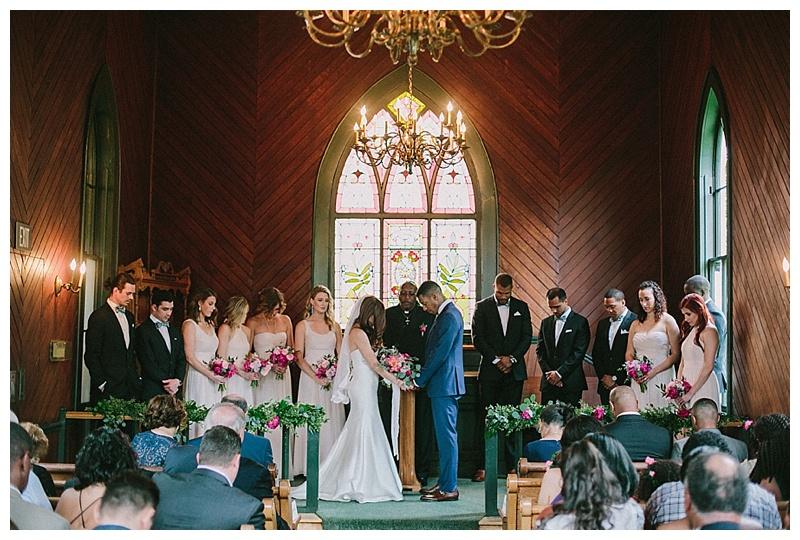 Portland Wedding Florist Oaks Pioneer Church